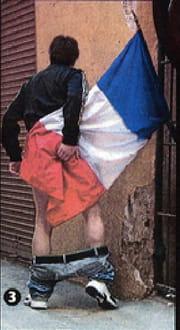 Réponse à la question Enigme: Quel pays possède un drapeau avec les couleurs JAUNE-BLEU-ROUGE dans le sens vertiical comme le drapeau Français!