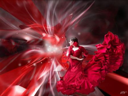 jupe tzigane flamenco