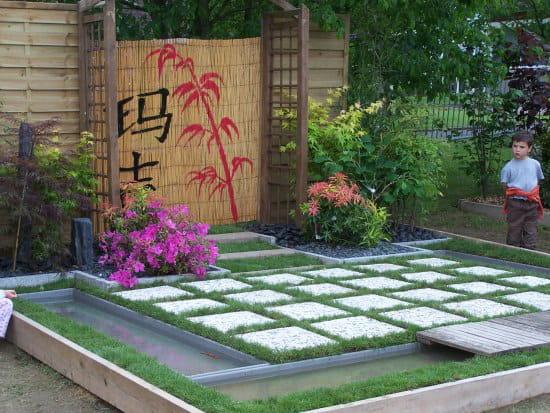 J 39 aimerais r aliser en bretage un mini jardin environ for Jardin 1m2