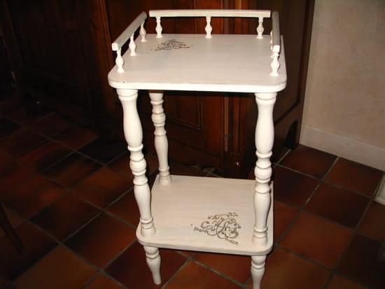 Peindre un vieux meuble en blanc photos de conception de for Peindre un meuble en blanc ceruse