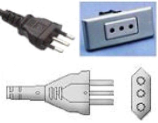 Prise electrique sardaigne