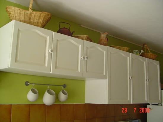 Peinture bois meuble cuisine peinture rnovation meubles for Peindre sa cuisine en blanc