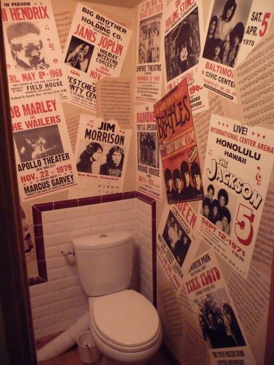 Comment r aliser un papier peint avec des photos personnelles loisirs cr - Comment enlever le papier peint du mur ...