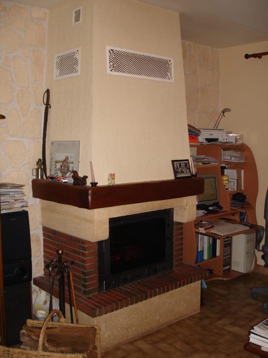 Je dois changer mon foyer ferm mais il faut casser la chemin e pour le reti - Casser cheminee ancienne ...