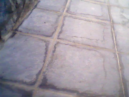 comment rendre étanche un carrelage posé en terrasse sur un garage