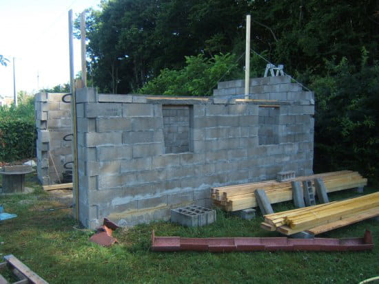 Comment construire garage parpaing for Budget pour construction garage