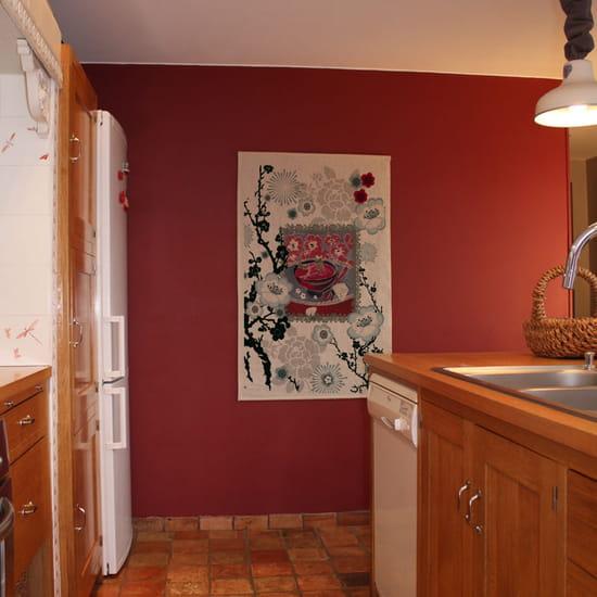 Quelle couleur mettriez vous sur les murs de ma cuisine porte bois clair et - Quelle couleur pour les murs de ma cuisine ...