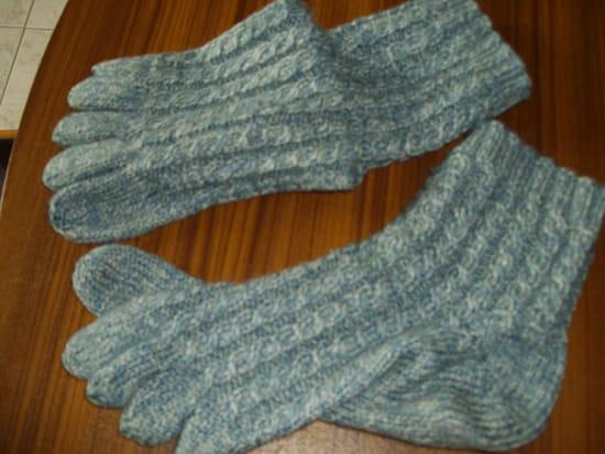 comment tricoter des gants video