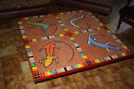 Qui a déjà fait une table en mosaïque ? [Résolu] - Journal ...