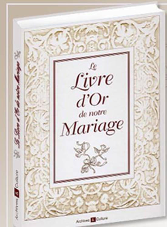 Le livre d 39 or de notre mariage r solu for Le livre de mariage