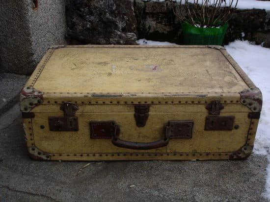 Comment renover cette vieille valise?
