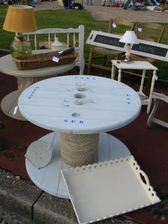 Construire une grande table de jardin des for Construire une table de jardin