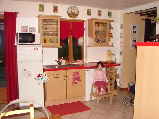 Rideaux de cuisine rouge et blanc rideaux de cuisine for Meubles japonais belgique