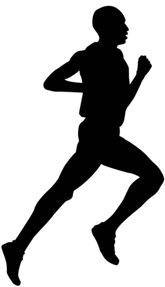 Recherche stickers repr sentant des coureurs pieds - Coureur dessin ...