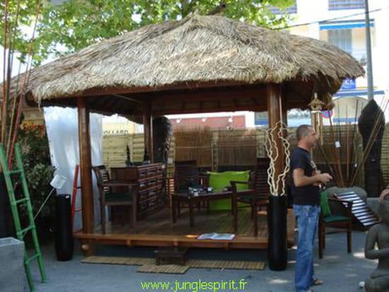 Je cherche un plan pour construire gazebo ou paillote en bois - Plan de gazebo en bois ...
