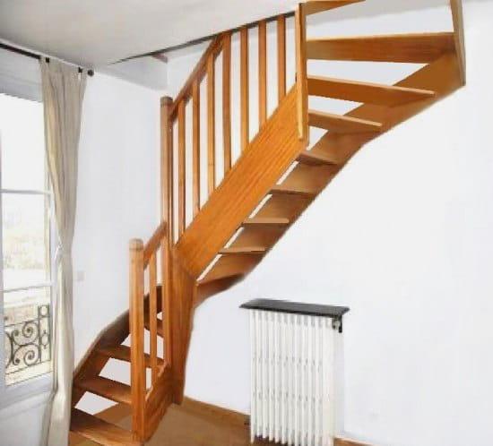 Super Alléger un escalier trop massif FH85