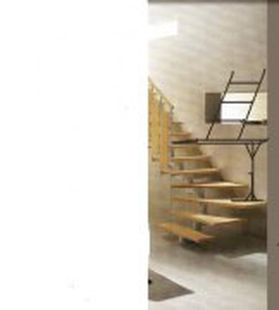 Comment detapisser un mur de plus de 2 m dans une montee d escaliers r sol - Echelle pour escalier tournant ...