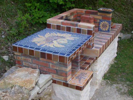 Je voudrais construire un barbecue en pierre o trouver des mod les merci - Foyer pour barbecue en pierre ...