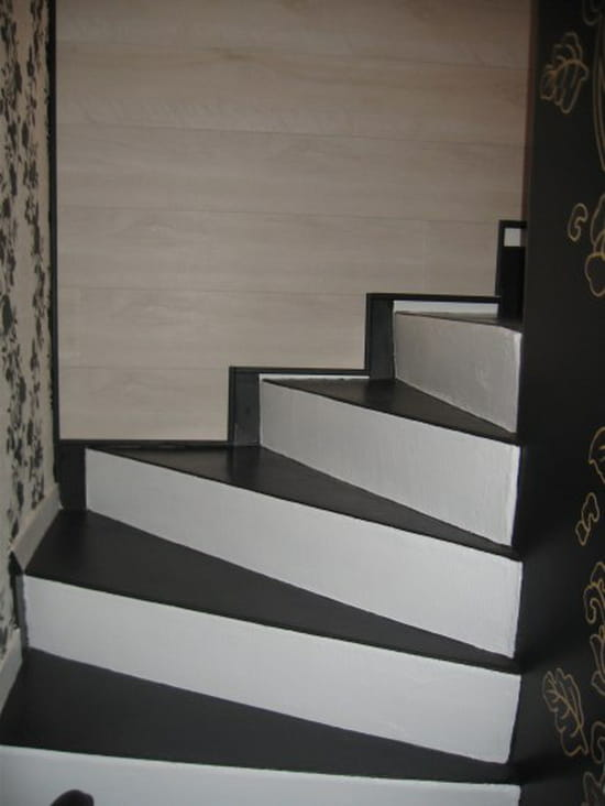 design comment relooker un escalier colombes 1631. Black Bedroom Furniture Sets. Home Design Ideas