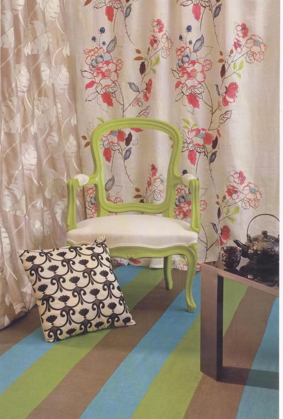 comment recouvrir un fauteuil ou le tissu est passe de mode loisirs cr atifs diy. Black Bedroom Furniture Sets. Home Design Ideas