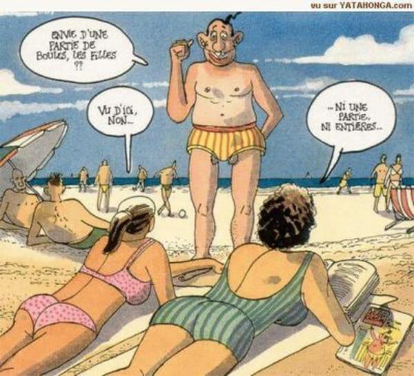 le sexe sur la plage dessin humour sexe
