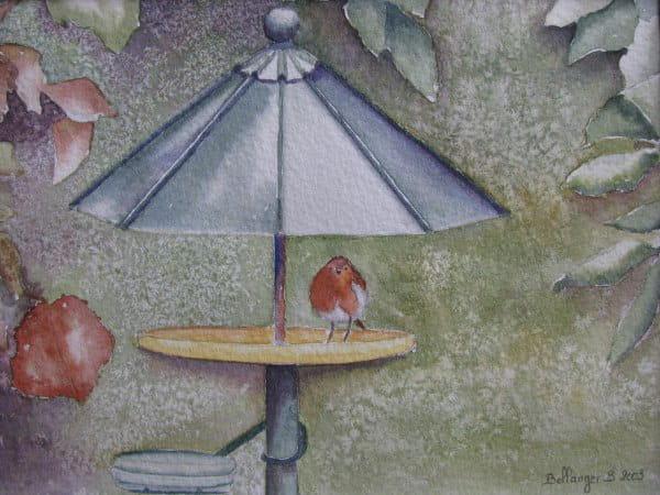 Rouge-gorge au fond du jardin...(2003) dans Animaux 54916539