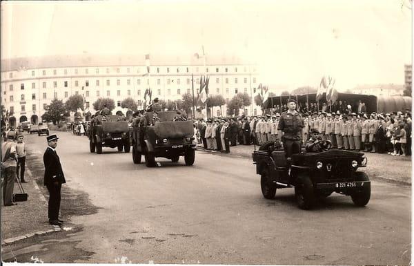 1967 défilé 14 juillet à PAU Section de Radars RASURA 53823970