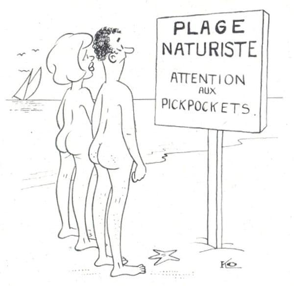 Réponse à la question Naturisme