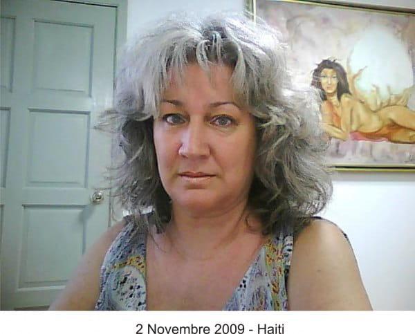 HAITI J'ATTENDS DES NOUVELLES  DE CATHERINE HUBERT  dans les pages de Catherine 51824892