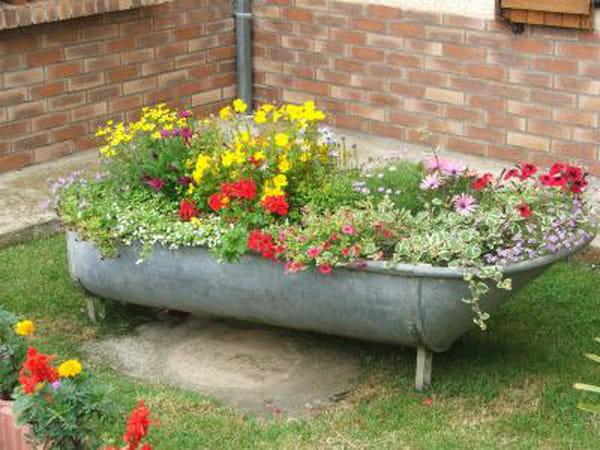 Et ma baignoire est dans le jardin questions et r ponses avec l 39 internaute copains - Baignoire oiseaux jardin ...