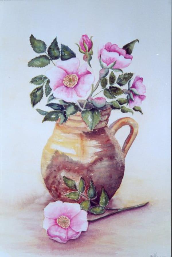 Bouquet d'églantier (2006) dans Aquarelles 54811801